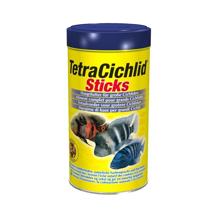 Aliment sticks TetraCichlid Sticks 250 mL 58041