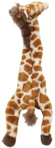 Jouet pour chien Girafe plate 50cm