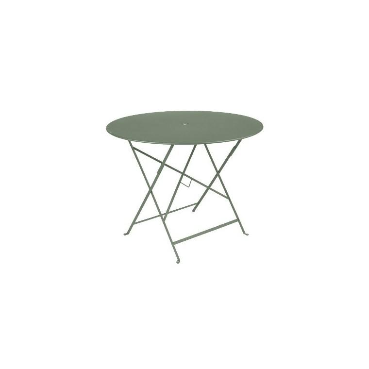 Table de jardin ronde pliante Bistro FERMOB cactus 96 x h 74 cm 583413