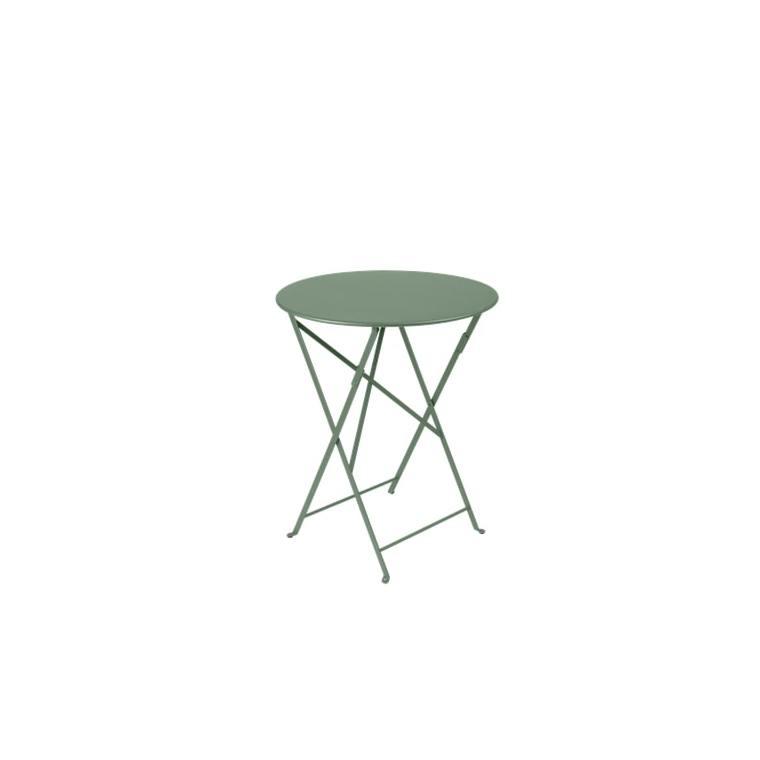 Table de jardin ronde pliante Bistro FERMOB cactus 60 x h 74 cm 583428