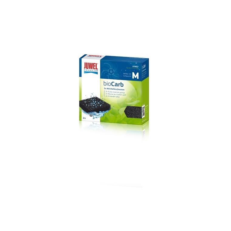 Éponge charbon taille compacte noire 58742