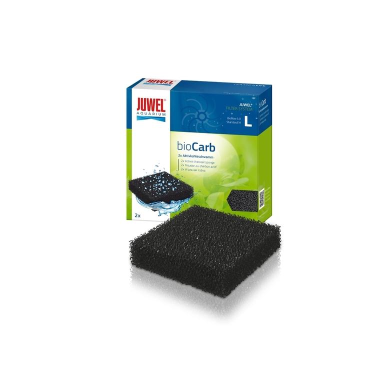 Éponge charbon taille standard noire 58743