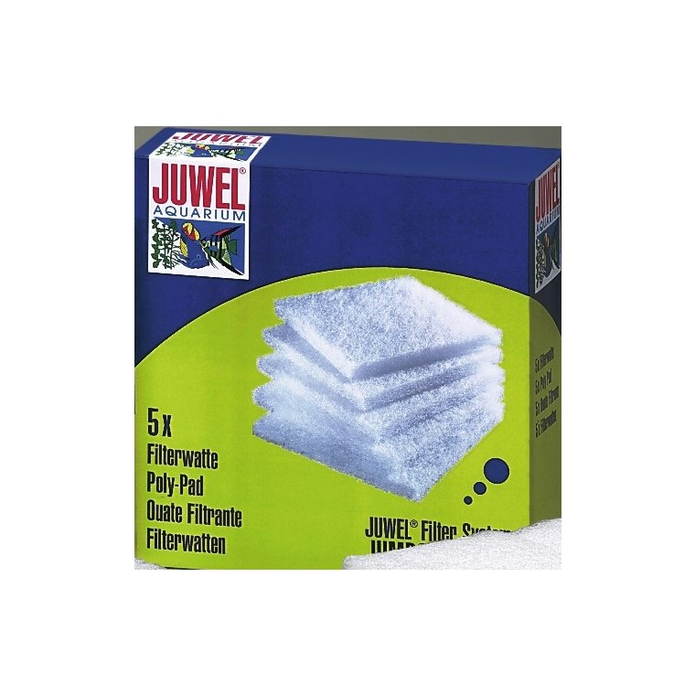 Ouate filtrante standard blanche 58759