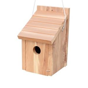 Nichoir balata en bois 14.5 × 13 × 22 cm 602518