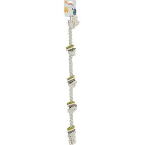 Jouet pour perroquet en corde taille L gris Ø 6 x 83 cm 605768