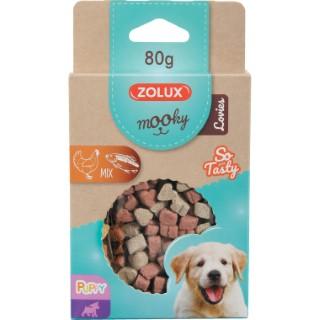 Friandises pour chiot Mooky puppy Lovies en étui de 80 g 606850
