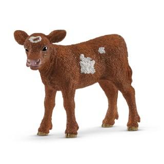 Figurine Veau Texas Longhorn plastique 7x5x3 cm à partir de 4 ans 607253