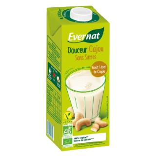 Boisson Douceur cajou bio sans sucre en brique de 1 L 611573