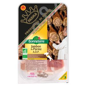 Jambon de parme AOP d'Italie Bonneterre 70 g 611591