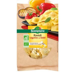 Raviolis aux légumes du soleil Bonneterre en sachet 250 g 611600
