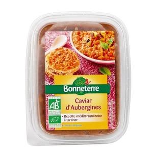 Caviar d'aubergine Bonneterre en pot 170 g 611613