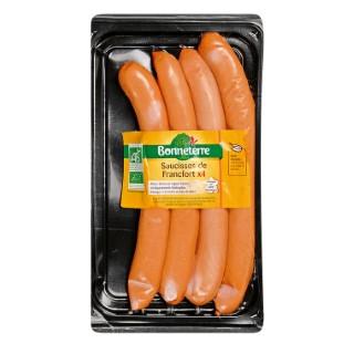 Saucisses de francfort de qualité supérieure x 4 de 240 g 611617