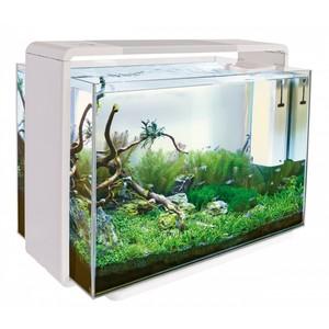 Home 110 Aquarium Blanc 77,5x36x53 cm 611630