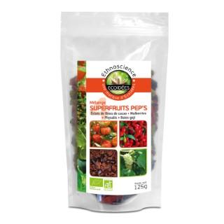 Mélange 4 superfruits pep's bio en sachet de 125g 611681