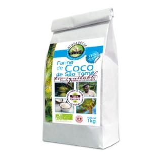 Farine de coco bio en sachet de 1 kg 611684