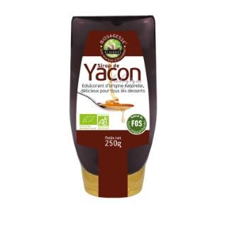 Sirop de Yacon bio en flacon de 250 ml 611685