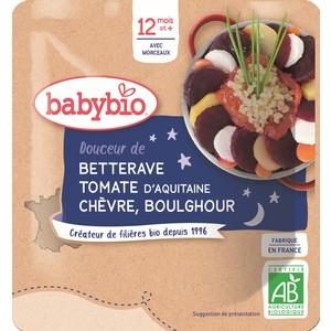 Bonne Nuit poche betterave tomate chèvre boulghour 611705