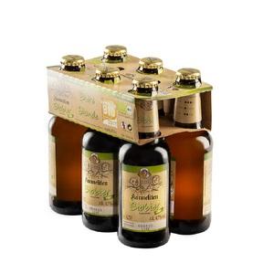 Bière blonde bio.  Le pack de 6 bouteilles de 25 cl 611823