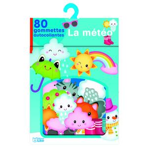 La Météo Ma Boîte à Gommettes 3 ans Éditions Lito 612237
