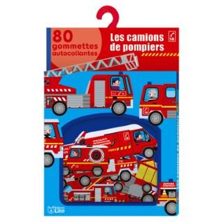 Les Camions de Pompiers Mes Gommettes Lito 3 ans Éditions Lito 612239