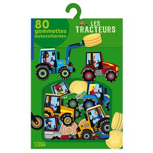 Les Tracteurs Mes Gommettes Lito 3 ans Éditions Lito 612240