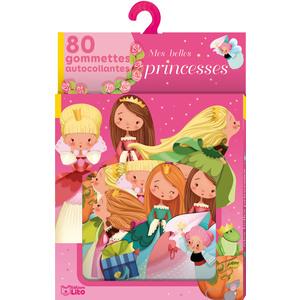 Mes Belles Princesses Gommettes Lito 3 ans Éditions Lito 612242