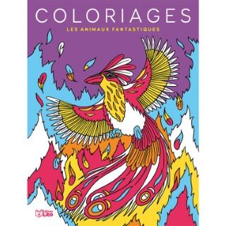 Les Animaux Fantastiques Mes Grands Coloriages 6 ans Éditions Lito 612252