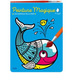 Peinture Magique à L'Eau - Les Animaux de la Mer Mon Bloc Magique 3 ans Éditions Lito 612259