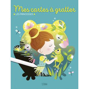 Mes Cartes à Gratter- Les Princesses Mon Bloc Magique 5 ans Éditions Lito 612260