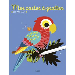 Mes Cartes à Gratter- Les Animaux Mon Bloc Magique 5 ans Éditions Lito 612261