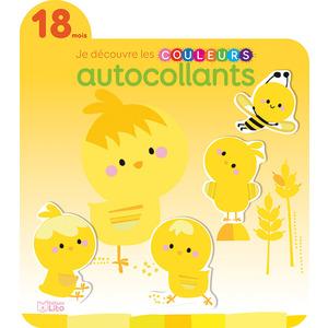 Le Soleil Je Découvre et je Joue avec les Couleurs en Autocollants 18 mois Éditions Lito 612265