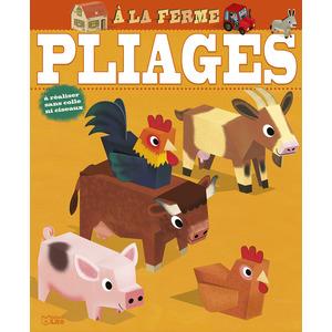 À la Ferme Mes Premières Créations en Pliage 6 ans Éditions Lito 612271