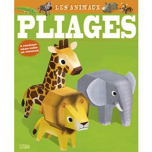 Les Animaux Mes Premières Créations en Pliage 6 ans Éditions Lito 612272