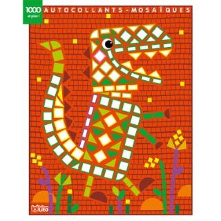 Le Dinosaure Mes Petits Tableaux en Autocollants Mosaïques Brillants 4 ans Éditions Lito 612279