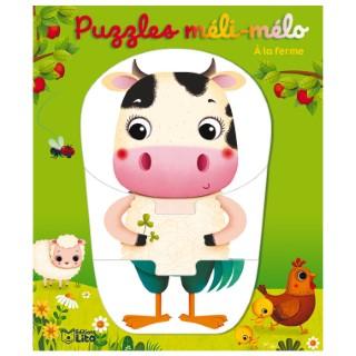 À la Ferme Mes Puzzles Méli-mélo Rigolos 1 an Éditions Lito 612284