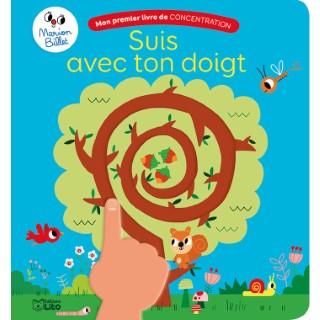 Suis avec ton Doigt Mon Premier Livre de Concentration 2 ans Éditions Lito 612286