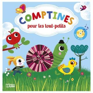 Comptines Pour les Tout- Petits avec CD Comptines à Chanter 18 mois Éditions Lito 612296