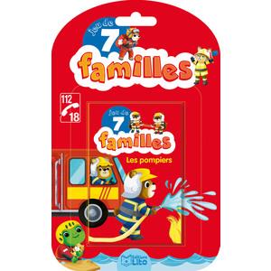 Les Pompiers Jeux de 7 Familles 5 ans  Éditions Lito 612299