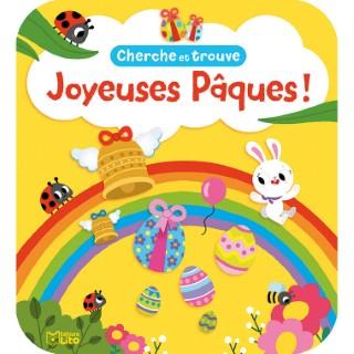 Cherche et Trouve Joyeuses Pâques Mes Petits Jeux Maternelle 3 ans Éditions Lito 612305