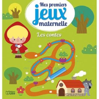 Les Contes Mes Premiers Jeux Maternelle 3 ans Éditions Lito 612306