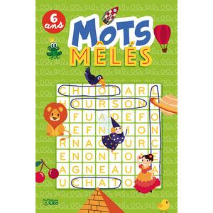 Mots Mêlés Super bloc jeux 6 ans Éditions Lito 612310