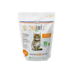 Croquettes pour chaton bio en sac de 800 g 612322