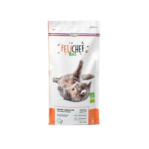 Croquettes chat adulte bio sans céréales 2kg 612401