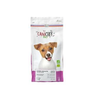 Croquettes chien bio petite race sans céréales 2 kg 612428