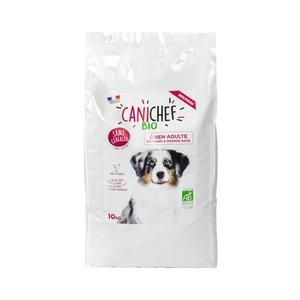 Croquettes pour chien de grande race bio sans céréales en sac de 10 kg 612435