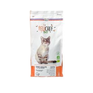 Croquettes pour chat adulte bio sans céréales en sac de 2 kg 612439