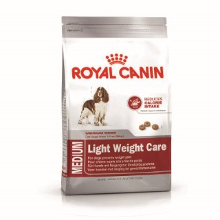 Croquette 9kg Medium adulte light Royal Canin 612636