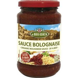 Sauce bolognaise 20% bœuf bio – 350 gr 612778