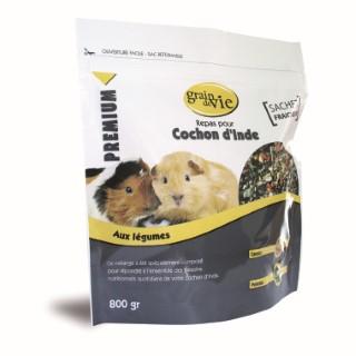 Repas cobaye premium legumes 800 g 613366