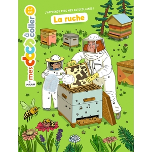 La ruche Mes Docs à  Coller 3 à 6 ans Éditions Milan 613949